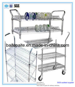 High Quality Wire Handcart Wheel Barrow pictures & photos