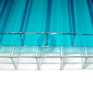 Polycarbonate Hollow Sheet Twin-Wall Polycarbonate Sheet PC Hollow Sheet pictures & photos