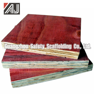 Film Faced Shuttering Plywood for Construction pictures & photos