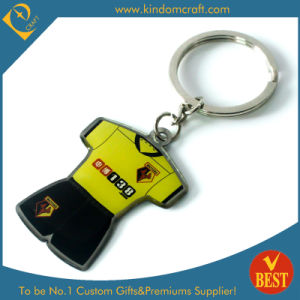 Custom Branding Promotion Metal Printed Keychain (KD-0711) pictures & photos