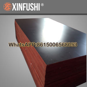 12mm Shuttering Plywood Fingor Core Black Film Construction Material pictures & photos