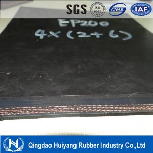 Industrial Rubber Polyester Ep Conveyor Belt (EP250)