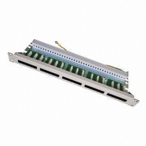 Voice Patch Panel with 25 Ports for 19-Inch Network Cabinet pictures & photos