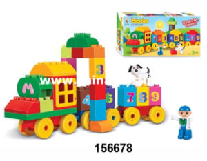 Novelty Plastic Educational Building Block Toy for Children (156678) pictures & photos