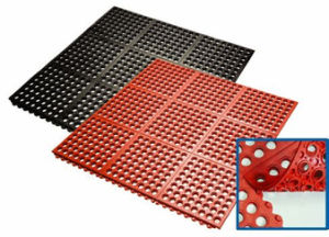 Rubber Floor; Interlocking Rubber Mat, High Quality Rubber Matting pictures & photos