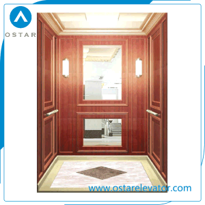 Wooden and Mirror Decorationed Mini Home Lift for Villa House pictures & photos