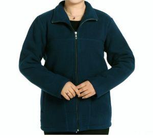 2014 Custom Logo Printed Zipper Women Polar Fleece Jacket pictures & photos