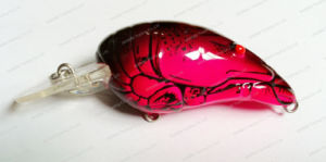 Top Grade Plastic Fishing Lure--UV Coated Craw Shape Crank Bait (HW001) pictures & photos