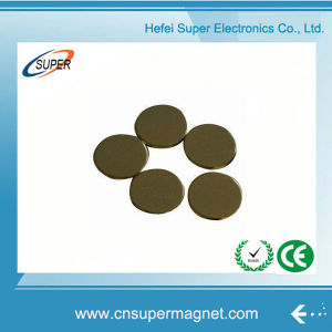 ISO9001 Certificated Neodymium Ultra Thin Disc Magnet pictures & photos