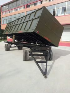 High Performance 30 Tons Tipping Trailers pictures & photos