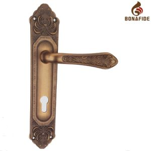High Quality Full Zinc Door Lock Handle-050 pictures & photos