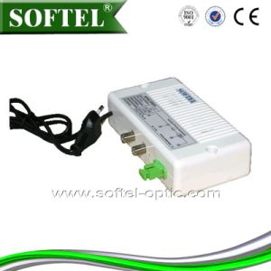 FTTH Indoor 2 Output Mini Optical Receiver/Node pictures & photos