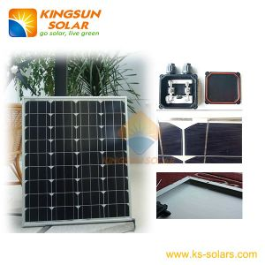 High Efficiency Mono Solar Panel Module 80W pictures & photos
