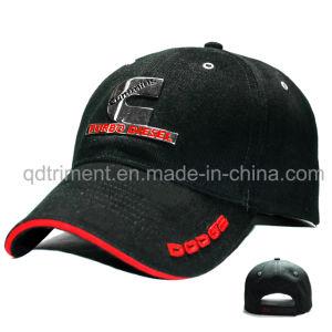 Custom Metal Emblem Embrodiery Sandwich Sport Baseball Cap (TMB6228) pictures & photos