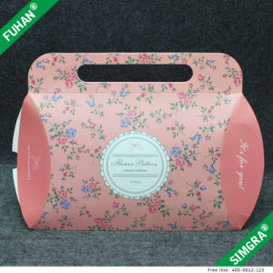 Nice Design Pink Color Foldable Paper Fancy Gift Boxes pictures & photos