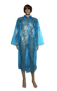 Custom Raincoat PE Disposable Waterproof Poncho Raincoat
