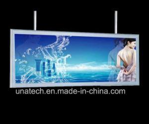 Aluminum Snap Frame Building Media Advertising PVC Flex Slim LED Light Box pictures & photos