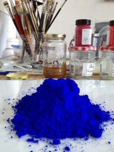 Ultramarine Blue Pigment for Artists Oil Paints