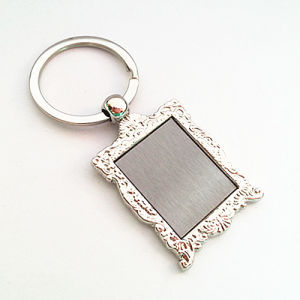 Promotional Zinc Alloy Metal Key Ring with Custom Logo (F1129)
