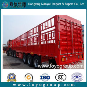 Sinotruk HOWO Cargo Transport Stake Semi Trailer pictures & photos