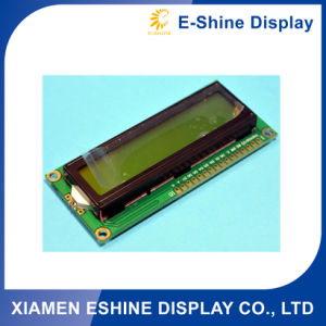 1602 Yellow Green Character Positive LCD COB Module pictures & photos