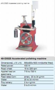 Accelerated Polishing Machine pictures & photos