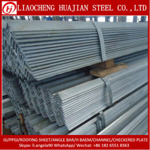 Q235B Q345 Equal Unequal Angle Steel Bar with GB Standard pictures & photos