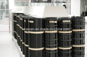 50kn Construction Materials Fiber Glass Geogrid with Ce pictures & photos