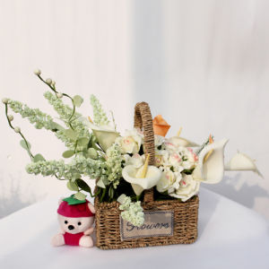 The Hottest Basket of Artificial Flowers05