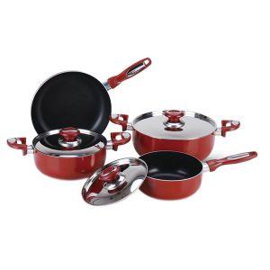 8PC Aluminum Cooking Pot Set pictures & photos