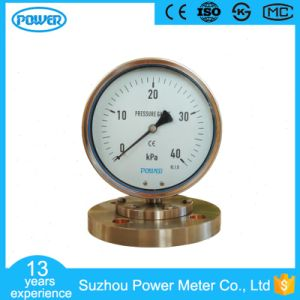 40 Kpa Pressure Gauge Manometer Diaphragm Flange Type Dn50 pictures & photos
