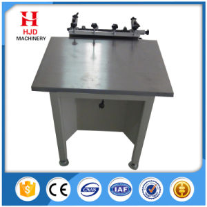 Suction Table Manual Screen Printer with High Precision pictures & photos
