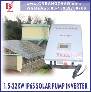 Deep Well Solar Water Pump Inverter 5.5kw for New Energy System pictures & photos