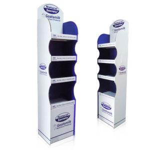 Supermarket Point of Sale Display, Cardboard Display, 4 Tiered Cardboard Retails Display pictures & photos