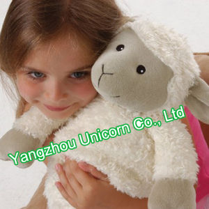 CE Soft Stuffed Animal Black Goat Plush Toy Sheep pictures & photos
