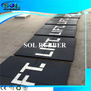 High Density Heavy Duty Platform Rubber Mat pictures & photos