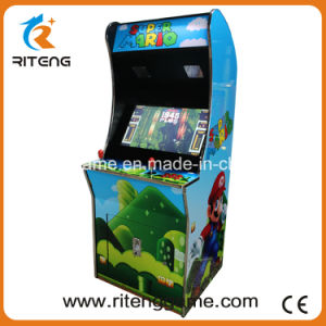 Super Mario 26 Inch Coin Pusher Arcade Machine with Free Joysticks/Buttons pictures & photos