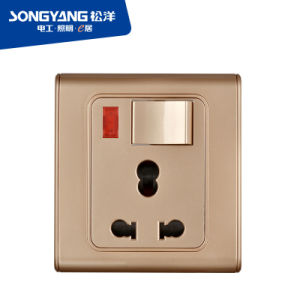 2016 Dubai Big5 Online Exhibition Switch Socket pictures & photos
