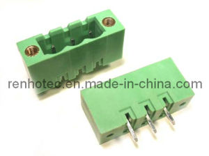Pluggable Terminal 5.08mm Pitch Screw Terminal Block Connector pictures & photos