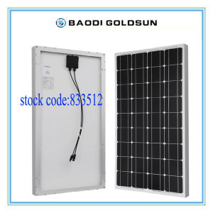 Monocrystalline Sillicon Solar Panel 130watt for Pakistan Market From China Factory pictures & photos