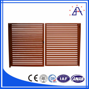 Australia Style Wood Grain Aluminum Fence with 10 Years Warranty pictures & photos