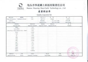 CNAS ISO9001 SGS Pass White Powder Lanthanum Carbonate 2 pictures & photos