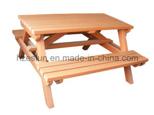 Outdoor WPC Bench Borad with Solid WPC Decking pictures & photos