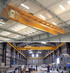 Customized European Model Double Girder Overhead Bridge Crane pictures & photos