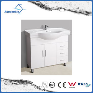 Hot Sell Australian Style White Baking Bathroom Furniture (ACF6803) pictures & photos