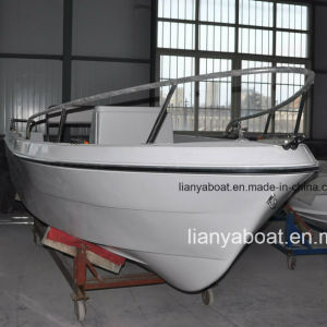 Liya 5.1m Fishing Boat Fiberglass Panga Boat with Motor pictures & photos
