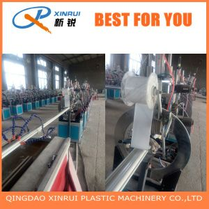PVC WPC Wood Plastic Faux Marble Profile Sheet Extruder Making Machine pictures & photos