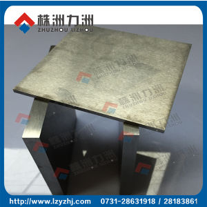 100% Virgin Raw Material Tungsten Carbide Sheet pictures & photos