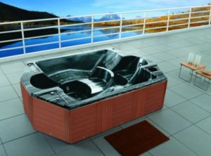 6-8 Person Square Outdoor Jaccuzi Whirlpool SPA pictures & photos