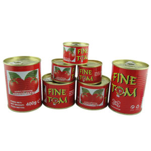 Canned Tomato Paste (FINE TOM 70g, 210g, 400g) pictures & photos